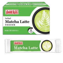 """Матча Латте быстрорастворимый готовый напиток """"Matcha Latte"""", 10 стиков по 25 г, GOLD KILI"""