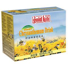 """Напиток хризантема с медом быстрорастворимый """"Chrysanthemum Drink"""", 10 саше по 18 г, GOLD KILI"""