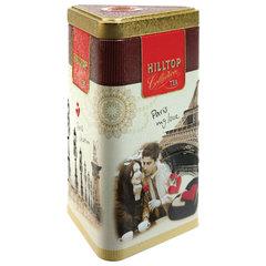 """Чай HILLTOP """"Чабрец"""", черный листовой, 80 г, жестяная упаковка """"ПАРИЖСКИЕ КАНИКУЛЫ"""""""