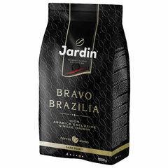 """Кофе в зернах JARDIN (Жардин) """"Bravo Brazilia"""", натуральный, 1000 г, вакуумная упаковка"""