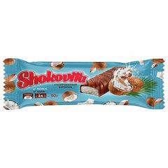Конфеты шоколадные SHOKOVITA, нуга с кокосовой стружкой, 1 кг