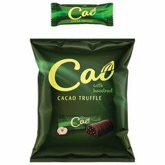 Конфеты шоколадные CAO с трюфельным вкусом и дробленым фундуком, 1 кг