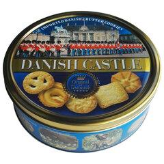 """Печенье BISQUINI (Бисквини) """"Danish Castle"""" Датский Замок, ассорти, жестяная банка, 454 г"""