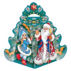 """Подарок новогодний """"Елка"""", 700 г, НАБОР конфет, картонная упаковка"""