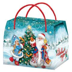 """Подарок новогодний """"Сумка Морозко"""", 800 г, НАБОР конфет, картонная упаковка"""