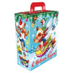 """Подарок новогодний """"На горке"""", 800 г, НАБОР конфет, картонная упаковка"""