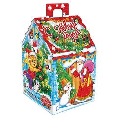 """Подарок новогодний Дом """"Зимние каникулы"""", 1300 г, НАБОР конфет, картонная упаковка"""