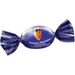 """Конфеты ОРЕХОВИЧИ """"Миндаль Иванович"""" в молочной шоколадной глазури, 500 г"""