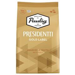 "Кофе в зернах PAULIG ""Presidentti Gold Label"", арабика 100%, 1000 г, вакуумная упаковка"