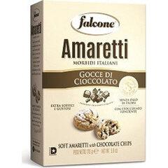 Печенье сахарное FALCONE Amaretti мягкие с шоколадом, 170 г, картонная упаковка