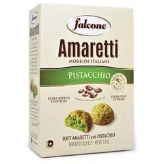 """Печенье сдобное FALCONE """"Amaretti"""" мягкое с фисташками, 170 г, картонная упаковка"""