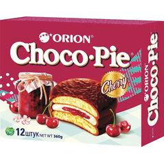 """Печенье ORION """"Choco Pie Cherry"""" вишневое 360 г (12 штук х 30 г)"""