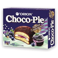 """Печенье ORION """"Choco Pie Black Currant"""" темный шоколад с черной смородиной, 360 г (12 штук х 30 г)"""