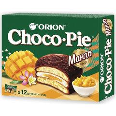 "Печенье ORION ""Choco Pie Mango"" манго 360 г (12 штук х 30 г)"