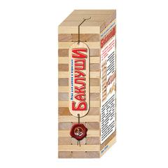 """Игра настольная Башня """"Баклуши"""", неокрашенные деревянные блоки, """"Десятое королевство"""""""