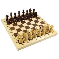 """Игра настольная """"Шахматы"""", 32 деревянные фигуры, деревянная доска 30х30, 10 КОРОЛЕВСТВО"""