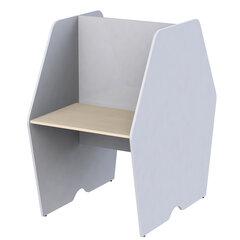 """База стола двустороннего """"Call-центр"""", 836х1320х1418 мм, цвет серый/дуб шамони (КОМПЛЕКТ)"""