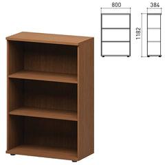 "Шкаф (стеллаж) ""Кубика"", 800х384х1182 мм, орех онтарио"
